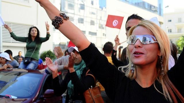 Anhänger von «Ruf Tunesiens»