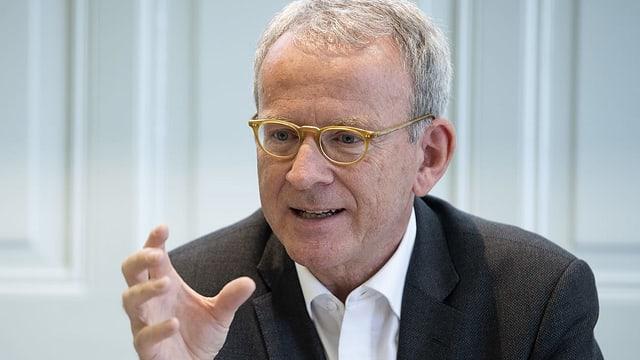 Der Eidgenössische Datenschutz- und Öffentlichkeitsbeauftragte Adrian Lobsiger,