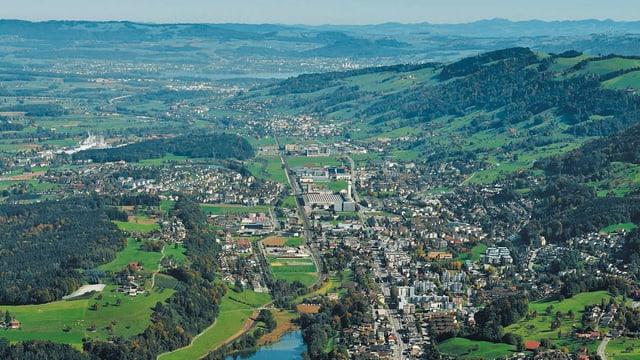 Blick auf Luzerner Rontal