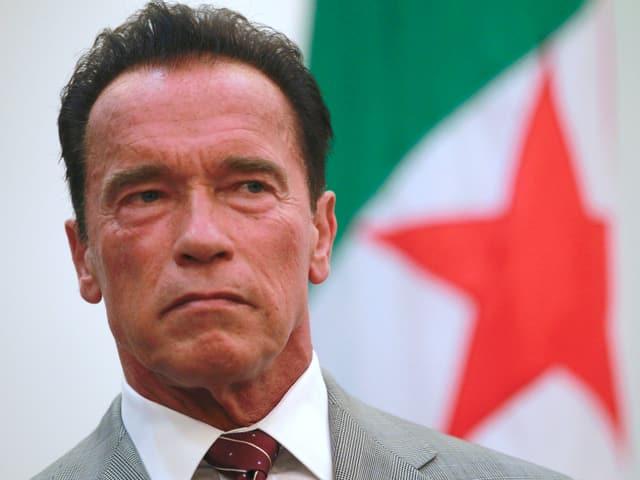 Porträt Arnold Schwarzenegger