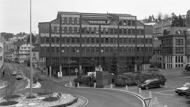 Das ehemalige KB-Gebäude in Herisau.
