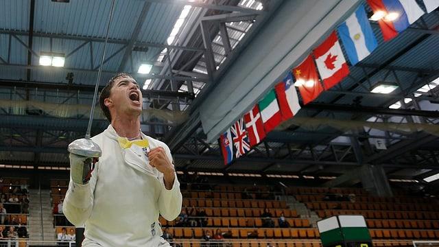 Max Heinzer will wie in Bern auch in Zagreb jubeln.