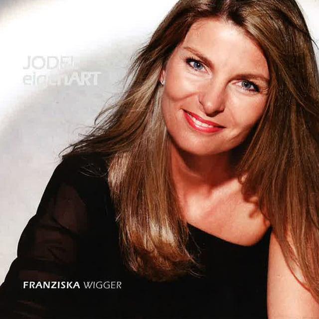 CD-Cover «JODELeigenART» von Franziska Wigger.