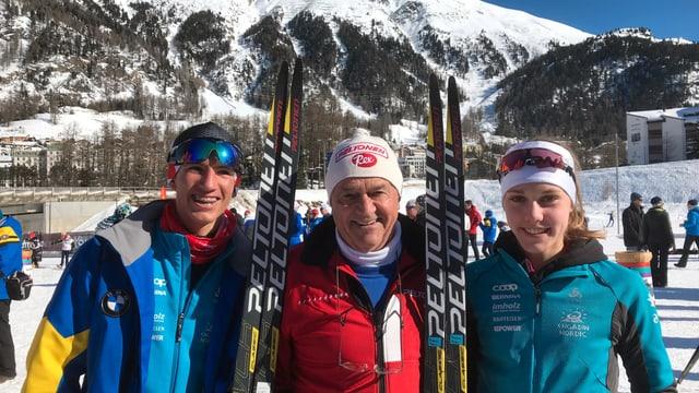 Yannick Zellweger e Marina Kälin vice champiuns svizzers