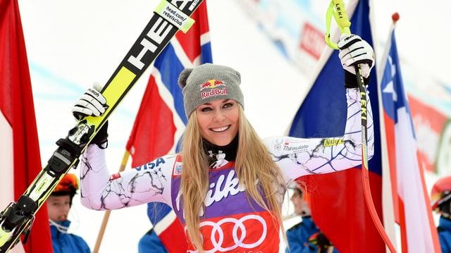Lindsey Vonn gibt an diesem Wochenende ihr Comeback im Weltcup.