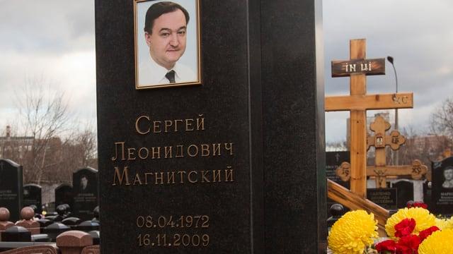 Sergei Magnitskys Grab.