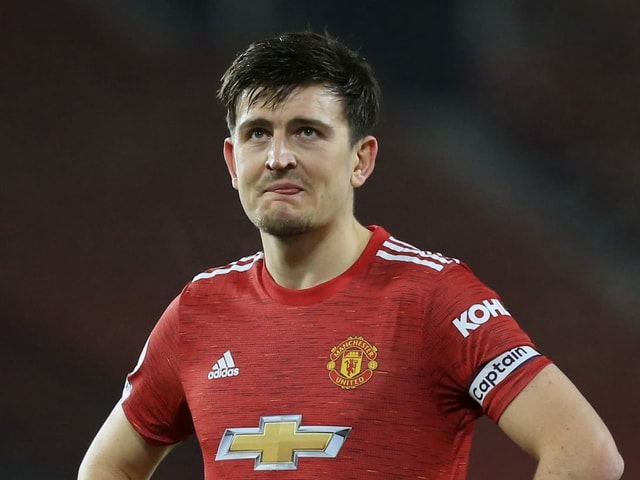 Captain Harry Maguire.