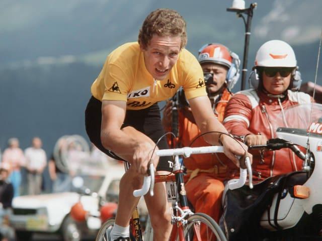 «Didi» Thurau fährt an der Tour de France 1977 ins Rampenlicht.