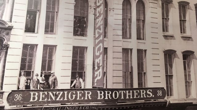 Gebäude aus dem 19. Jahrhundert in New York