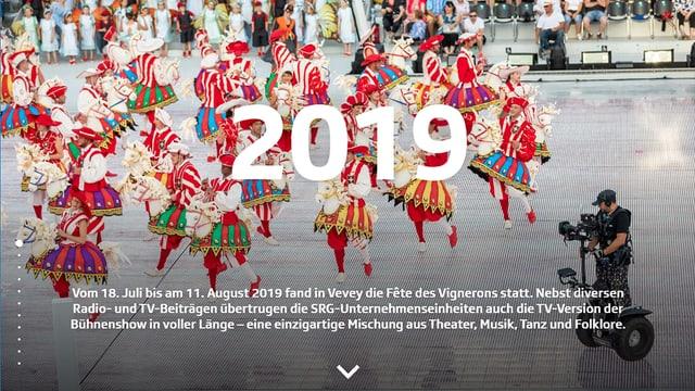Titelbild SRG-Geschäftsbericht 2019