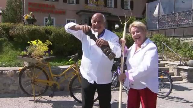 Video «Kanton Graubünden – Tag 2 – Restaurant Solaria, Bivio» abspielen