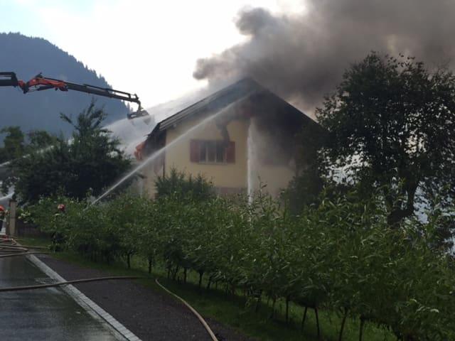 Grossbrand in Thusis