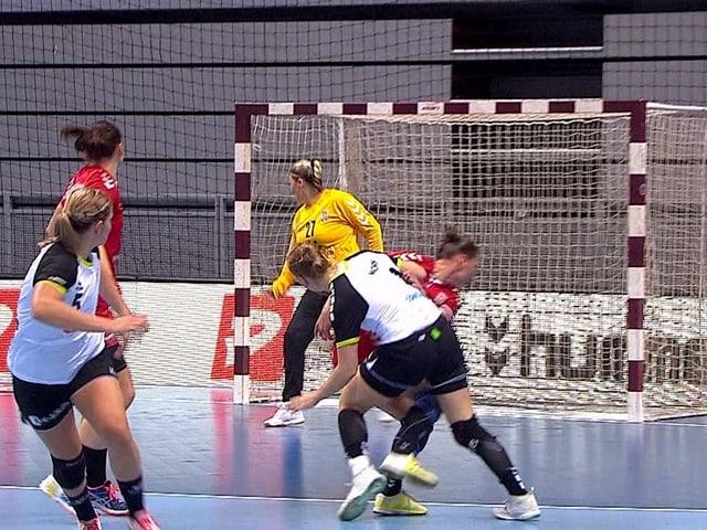 Handballerinnen.