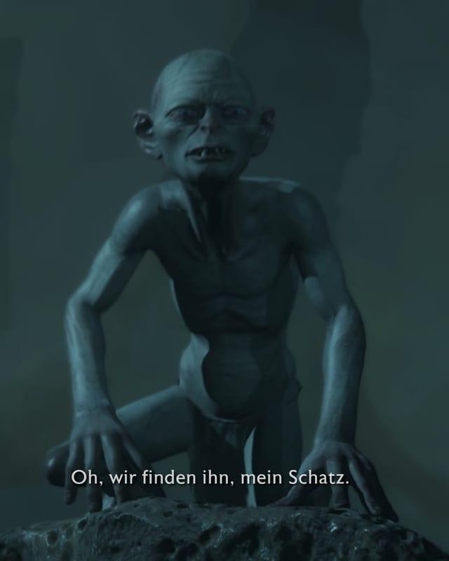 Gollum ist kein Monster sondern war ursprünglich ein Hobbit namens Sméagol.