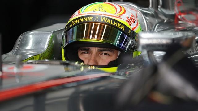 Sergio Perez im McLaren