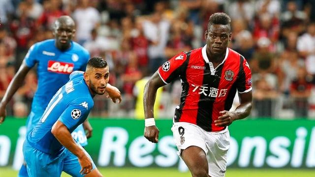 Der italienische Fussballer Mario Balotelli.