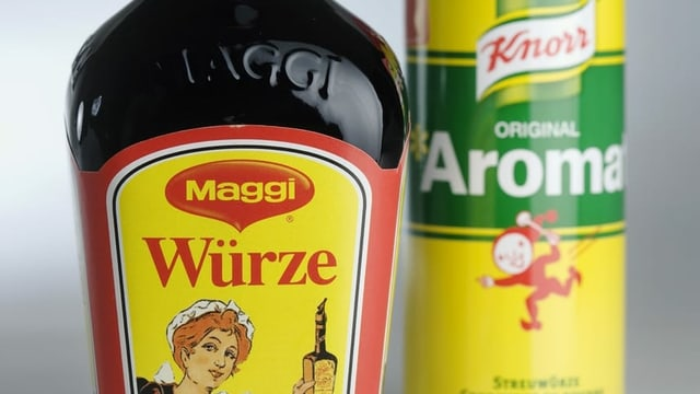 Aromat und Maggi-Würze