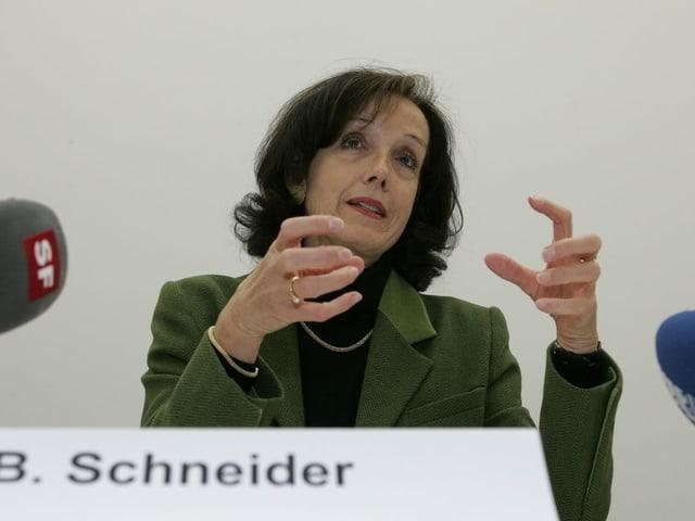 Regierungsrätin Barbara Schneider