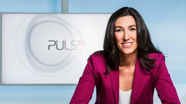 Odette Frey, Moderatorin «Puls»