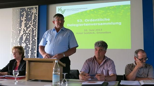 Vorstand des KVV Nidwalden