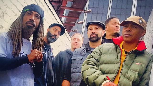 Jurassic 5: Die legendäre kalifornische Hip Hop Gruppe wird dieses Jahr am Royal Arena Festival zu hören sein.