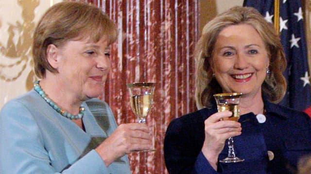 Bewunderung für Merkel