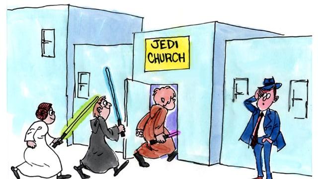Für manche ein Scherz - für viele aber eine echte Glaubensrichtung.