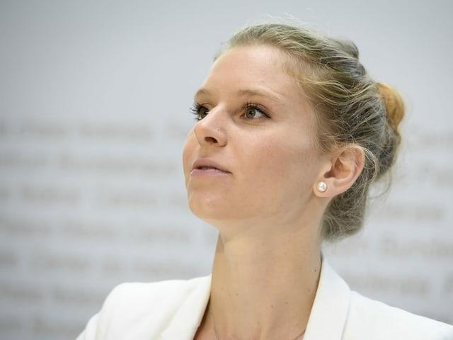Jill Nussbaumer, Vizepräsidentin der Jungfreisinnigen