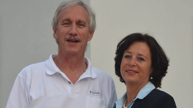 Adrian Urfer ed Anke Senne