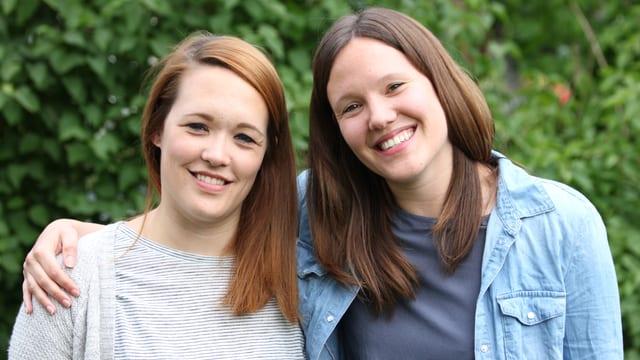 Isabelle und Michelle Schorer.