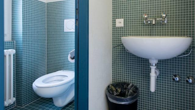 tualetta e lavabo