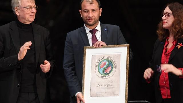 Saleh cun il certificat.