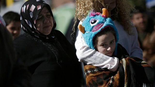 fugitivs bloccads en la Grezia