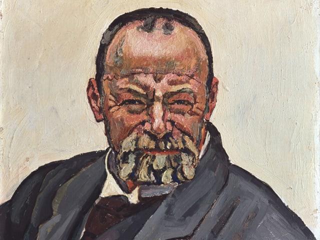Porträt von Hodler
