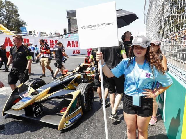 Die Grid Kids in der Formel E