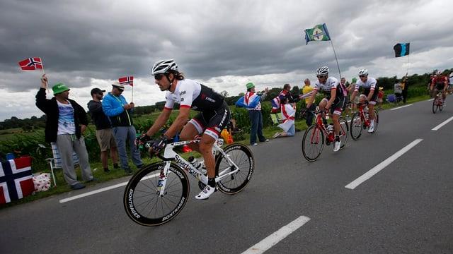 Plan etappas svizras al Tour de France 2016.