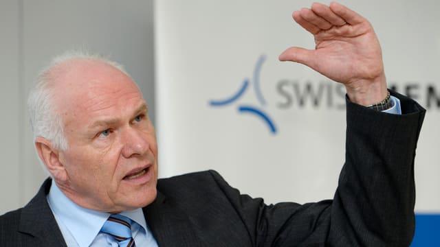 Hans Hess, il president da Swissmem.