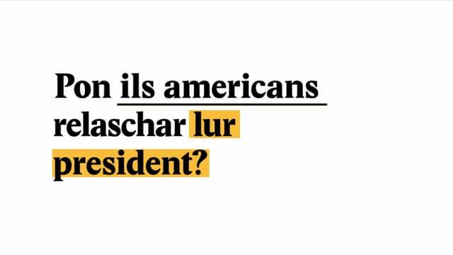 Laschar ir video «Explainer: Pon ils americans relaschar lur president?»
