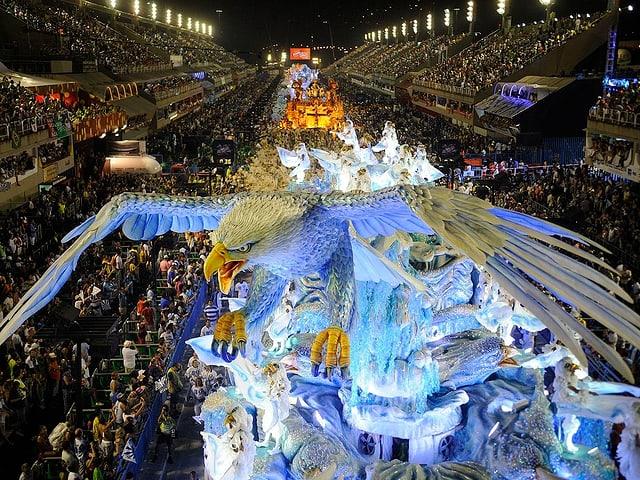 Brasiliens «carnaval», die Fasnacht, ist weltberühmt.