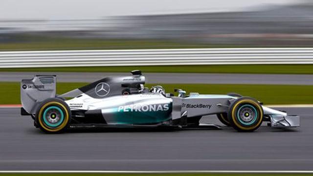 Das Rollout des neuen Mercedes fand ebenfalls in Jerez statt.
