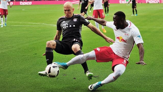 Bayern gewann gegen Leipzig mit 5:4.