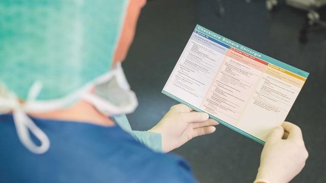 Mit Checklisten für mehr Sicherheit: Eine Broschüre soll vermeidbare Fehler verhindern.