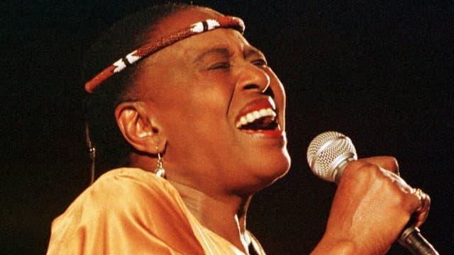 Purtret da Miriam Makeba.