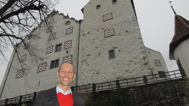 Jörn Wagenbach von Schloss Wildegg.