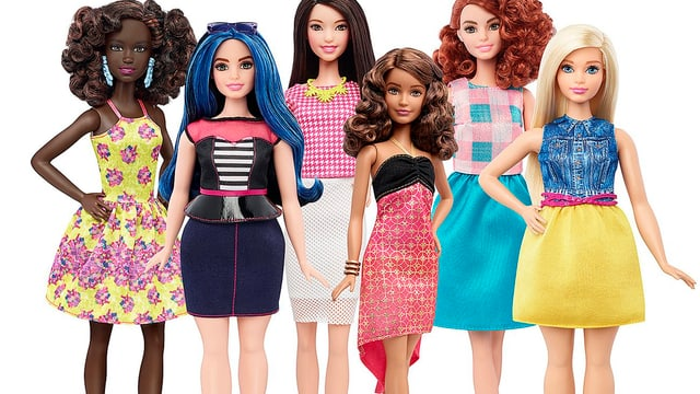 Die neuen Barbies.