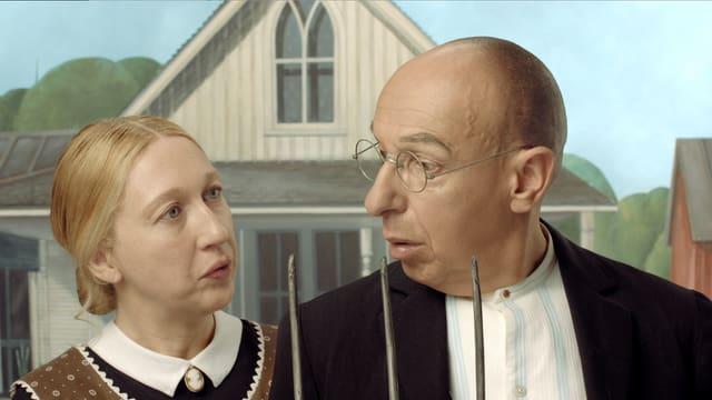 Video «Bilder allein zuhaus: American Gothic (3/30)» abspielen