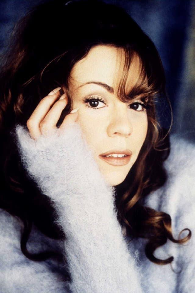 junge Mariah Carey Porträt