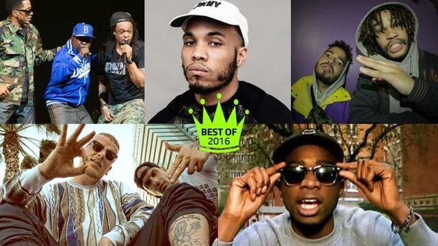 Unsere liebsten Rap-Künstler 2016