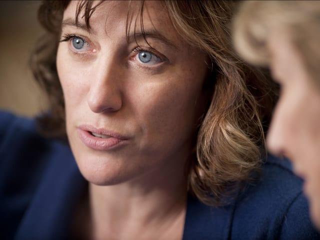Valeria Bruni Tedeschi links und Marisa Borini