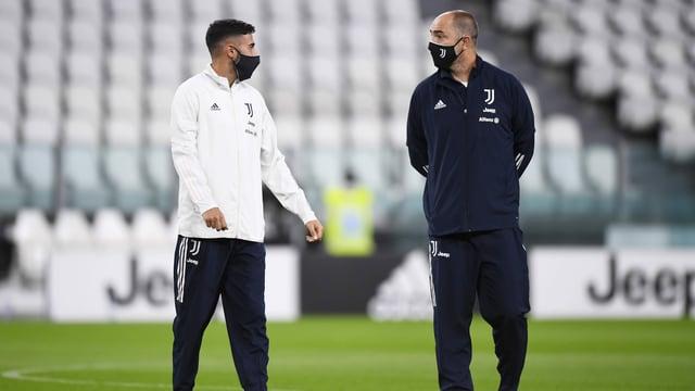 Das Topspiel zwischen Juventus und Napoli fand nicht statt
